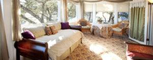 lavender suite living room